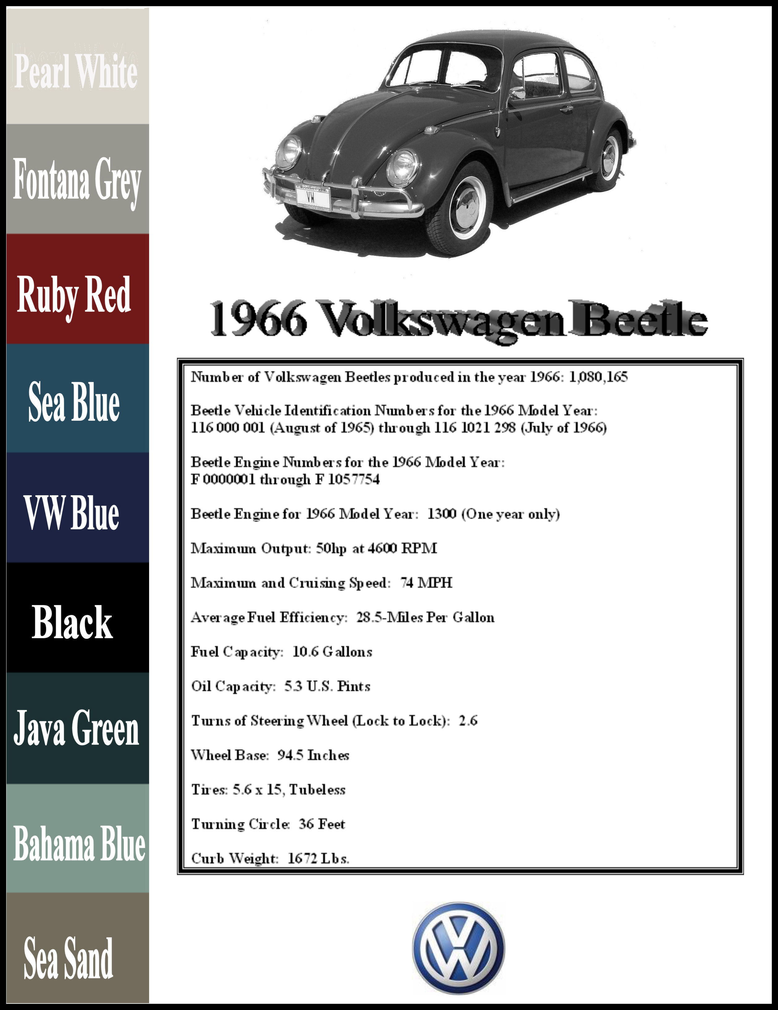 Vw Bug Engine Diagram Wiring Library Volkswagen 1966 Beetle 66
